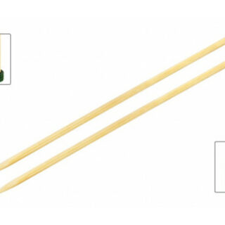KnitPro Bamboo Strikkepinde / Jumperpinde Bambus 33cm 7,00mm / 13in US