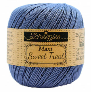 Scheepjes Maxi Sweet Treat Garn Unicolor 261 Capri Blue