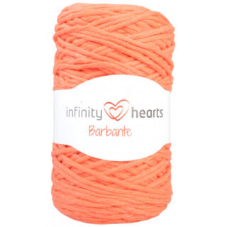 Infinity Hearts Barbante Garn 26 Orange
