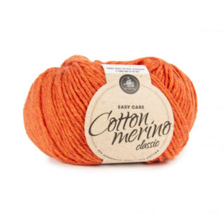 Mayflower Easy Care Classic Cotton Merino Garn Solid 107 Orange