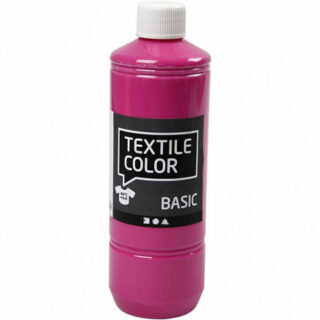 Textile Color, pink, 500ml